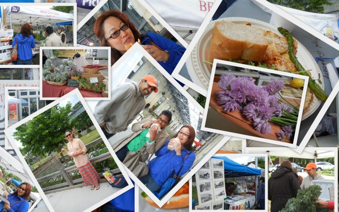 Farmer's Market Collage