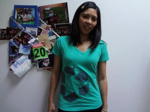 Stitch and Spoke's I Recycle T-Shirt