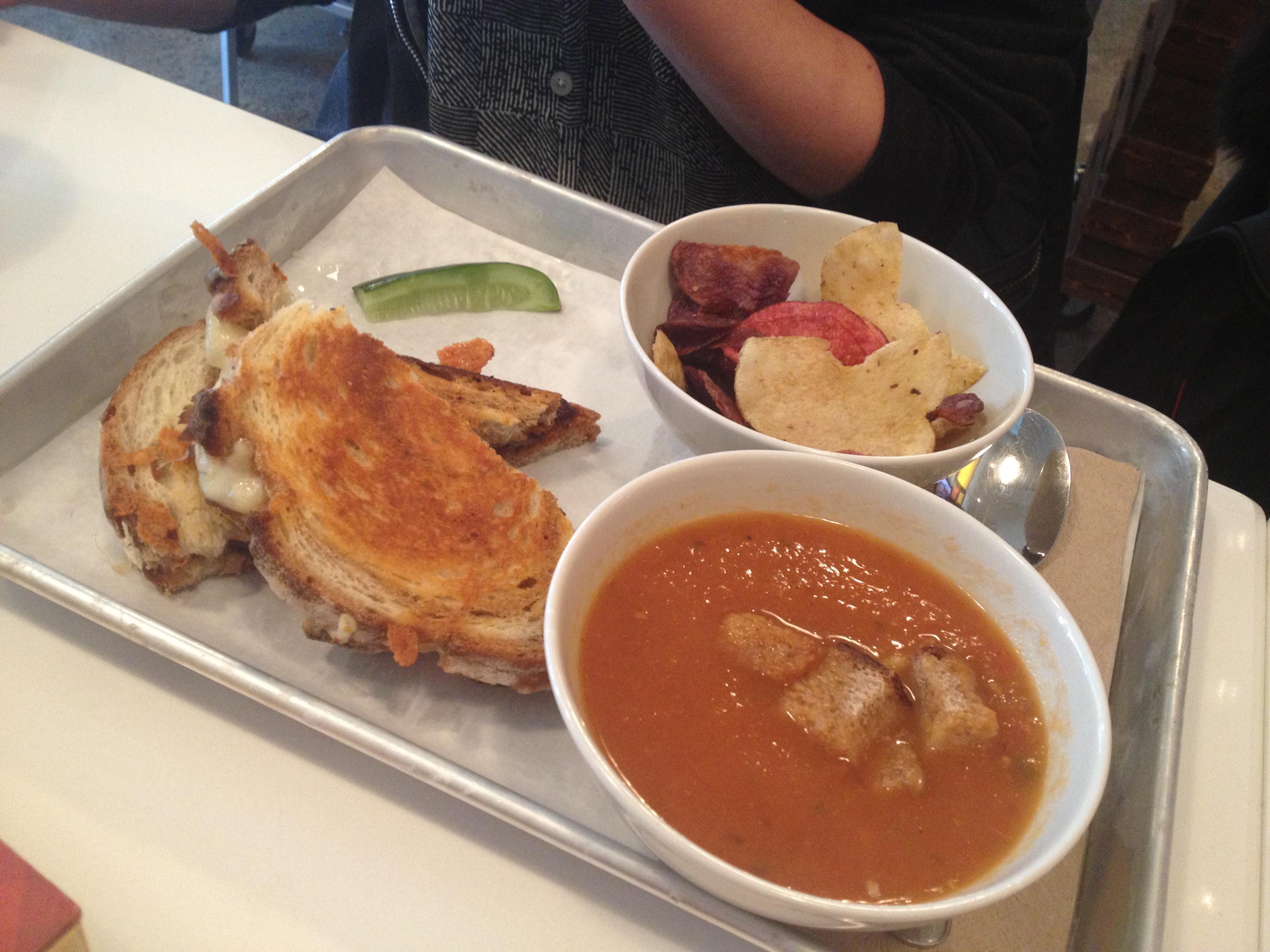 Grill Cheese w/ Tomato Cream Soup