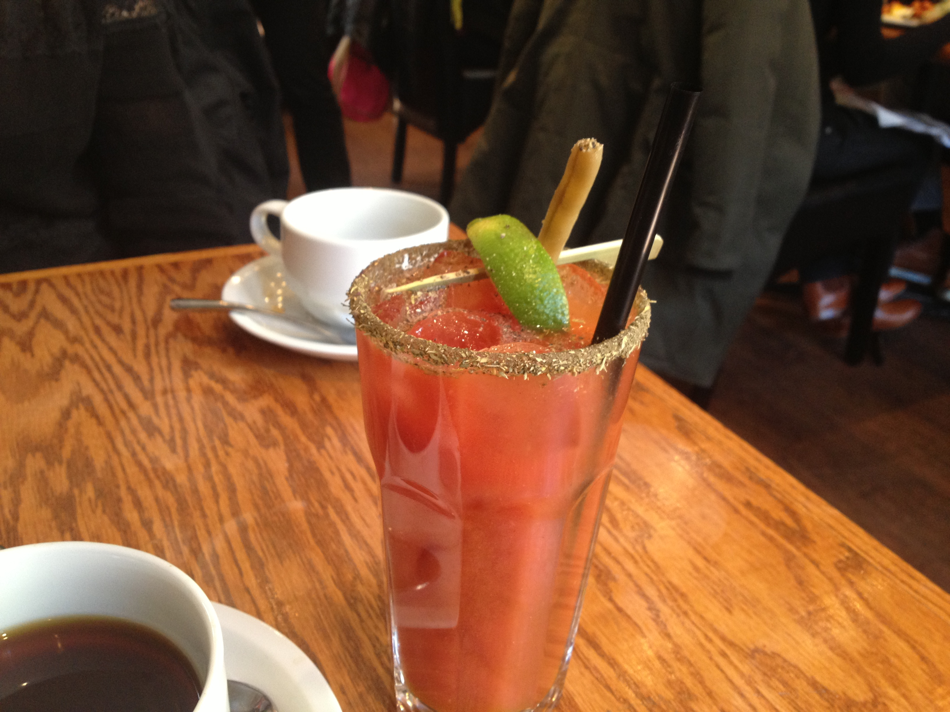 The Cure: $5 Caesar to start my morning