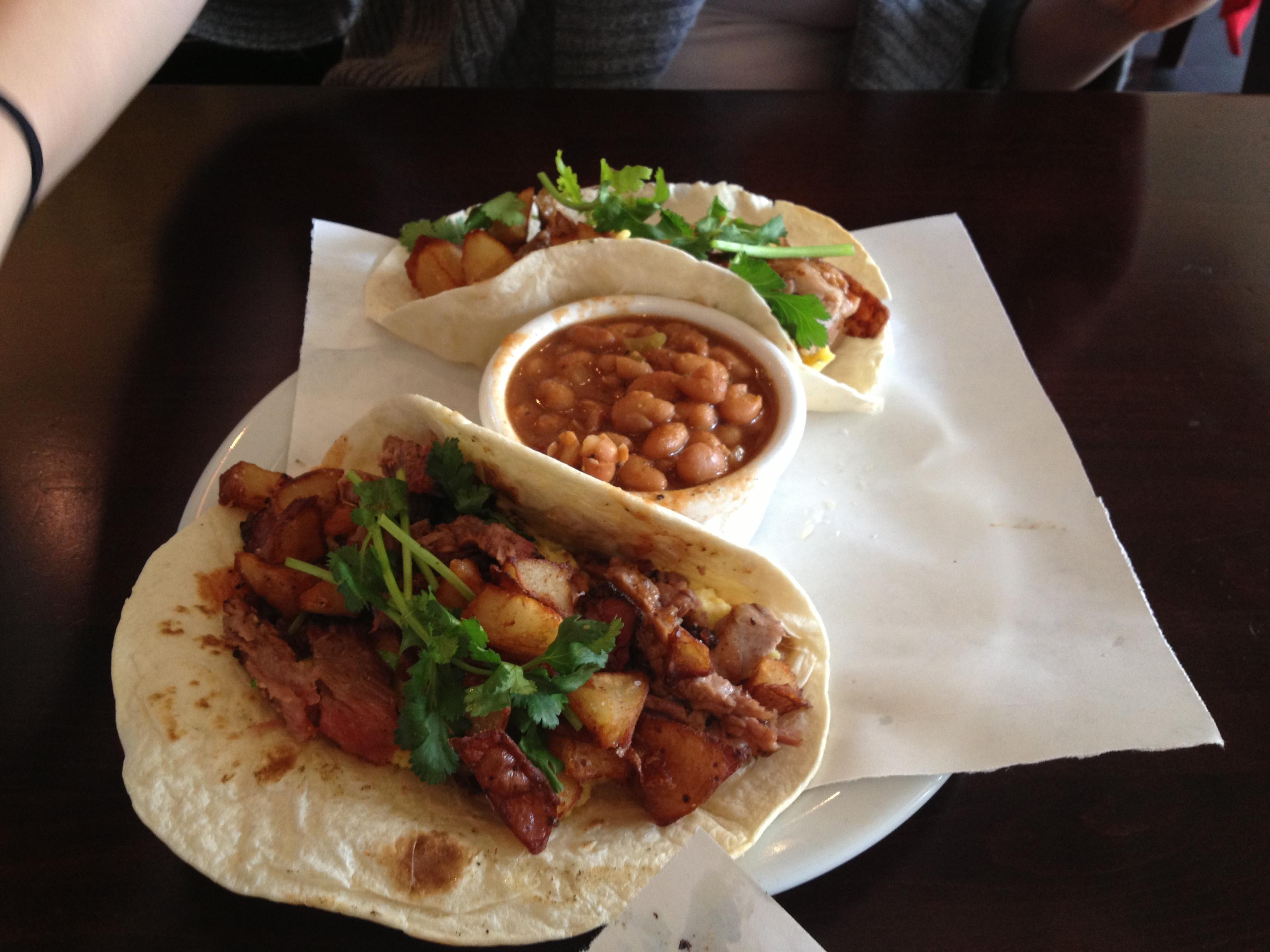 Austin Style Breakfast Tacos
