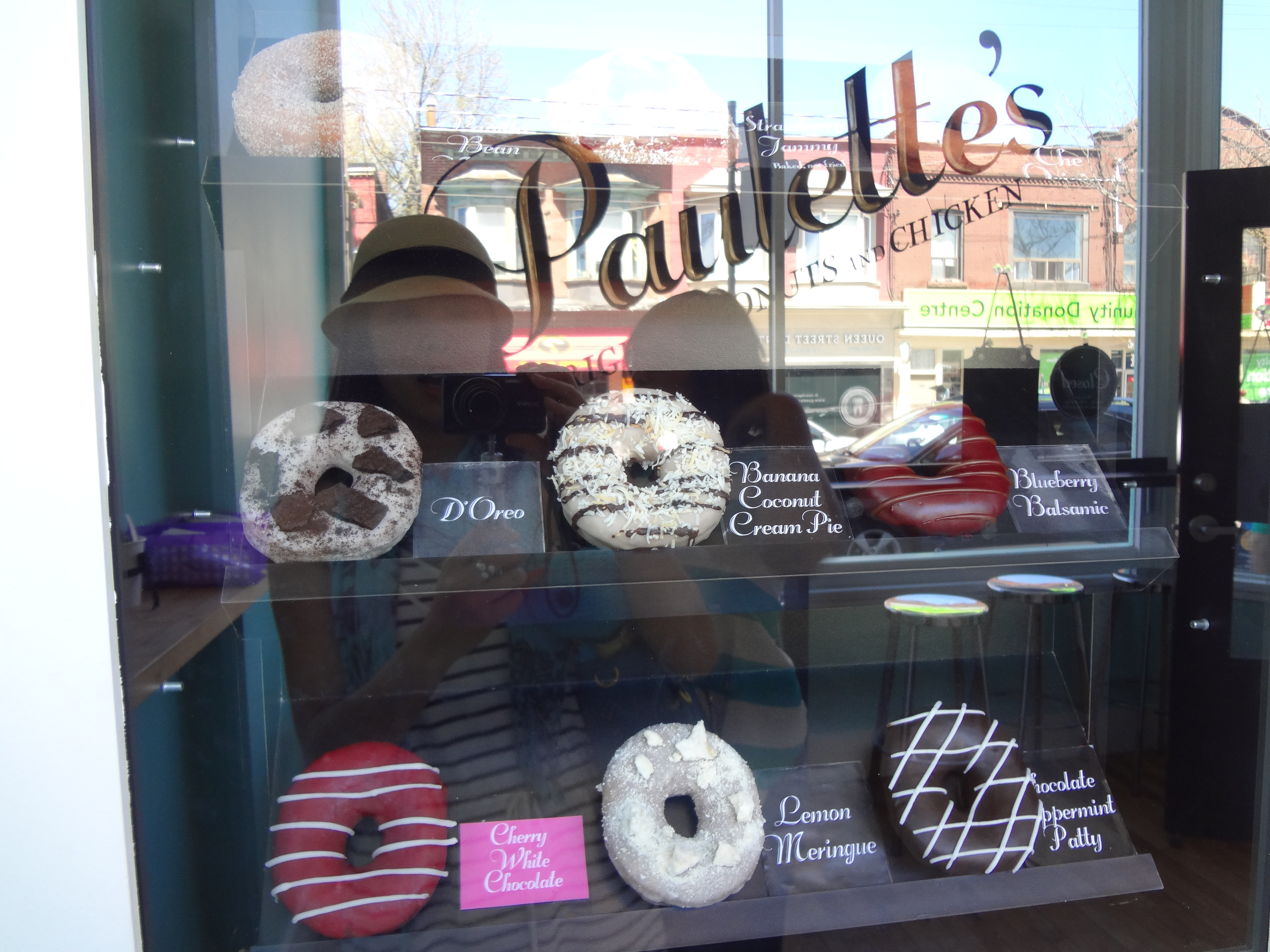Donuts on Display