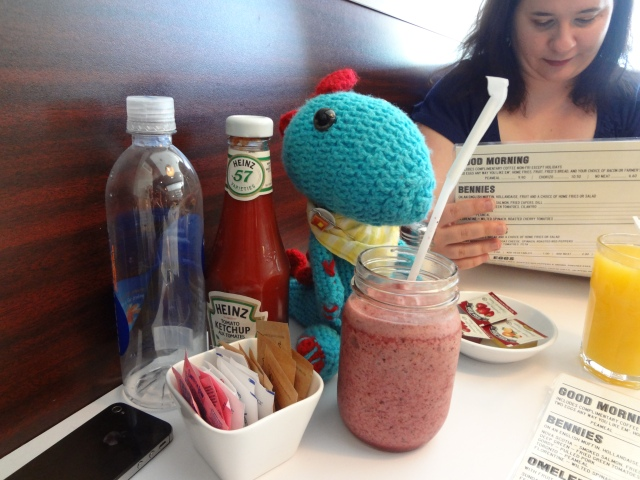 Benny and a Smoothie!