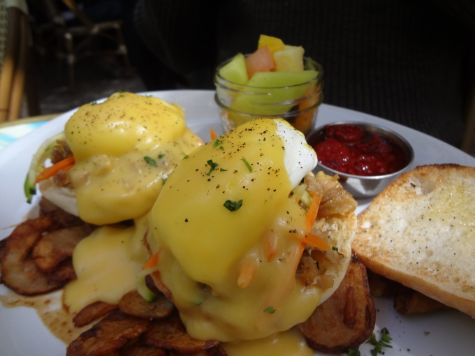 It's a pretty sexy eggs benny wouldn't you agree?