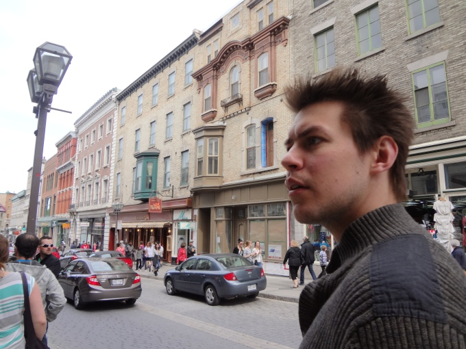 Quebec City Streets: There's so much to see...