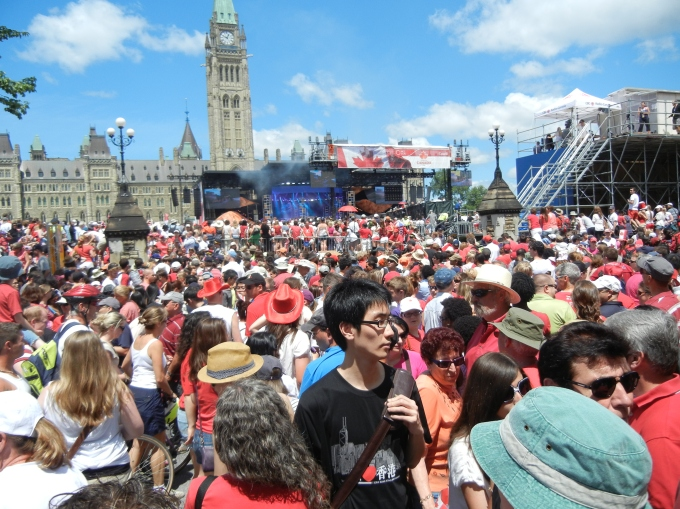 parliament wellington canada day ottawa