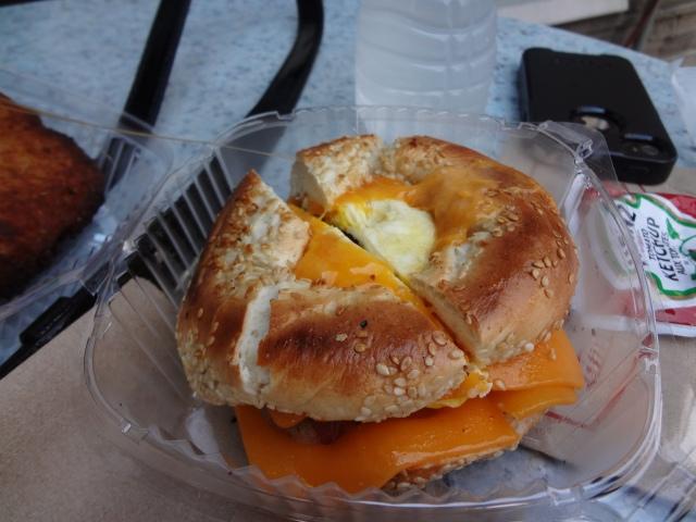 Breakfast Sandwich from Kettleman's