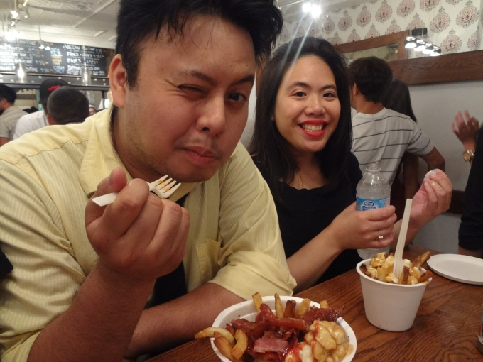 Poutini's being devoured by Shingo and Coco*a