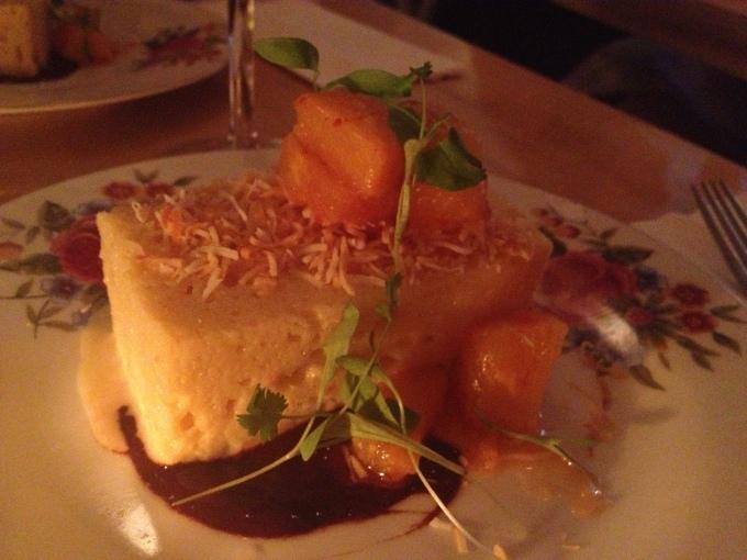 Tres Leche Cake from the Gabardine! So very good!