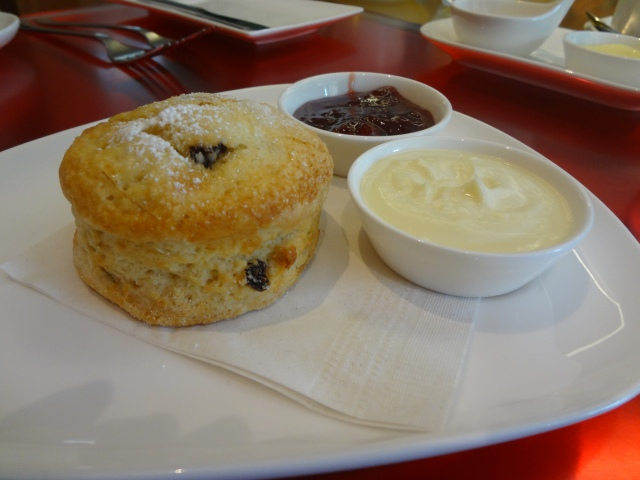 AGO signature black-currant scone