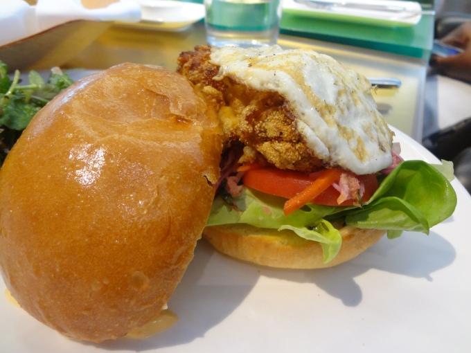 Chicken and Egg on Brioche Frank AGO