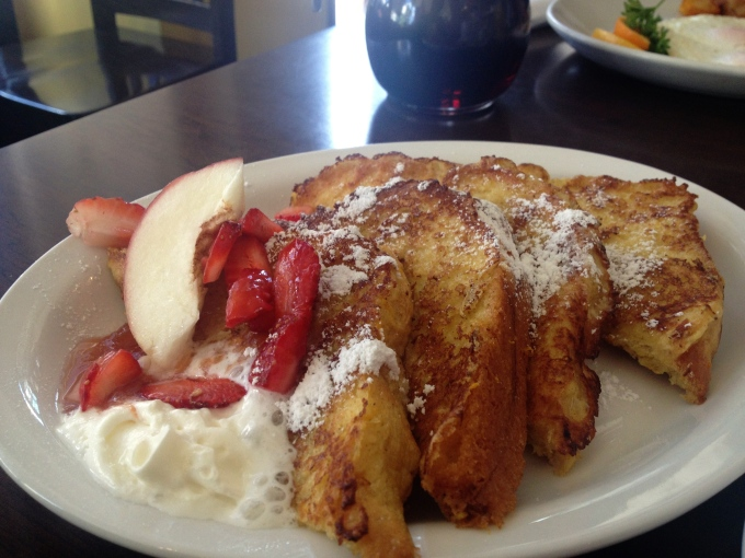 French Toast Figs Toronto Brunch
