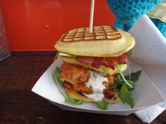 chicken waffles dirty south truck love