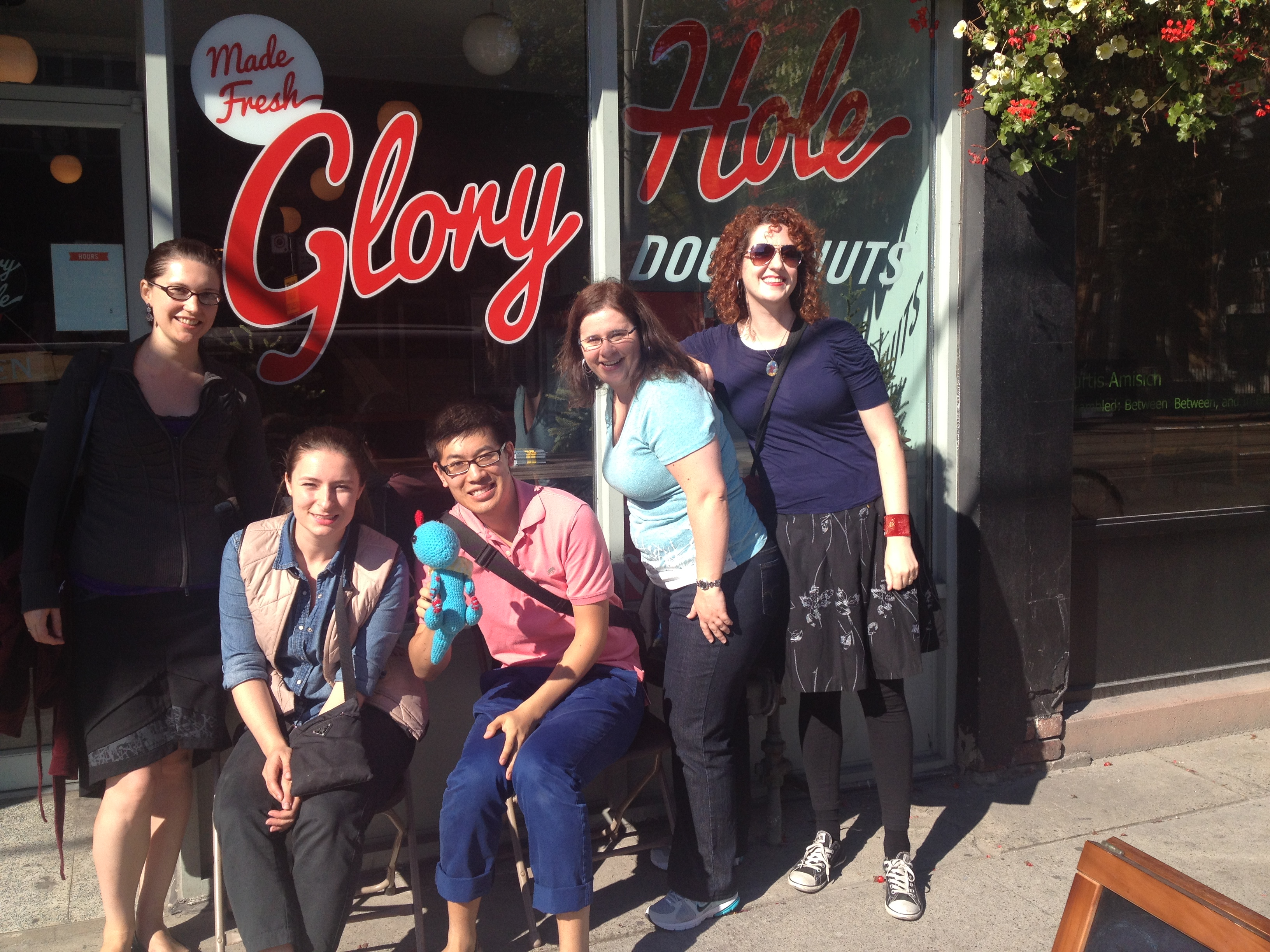 brunch, brunch crawl, donuts, glory hole, toronto