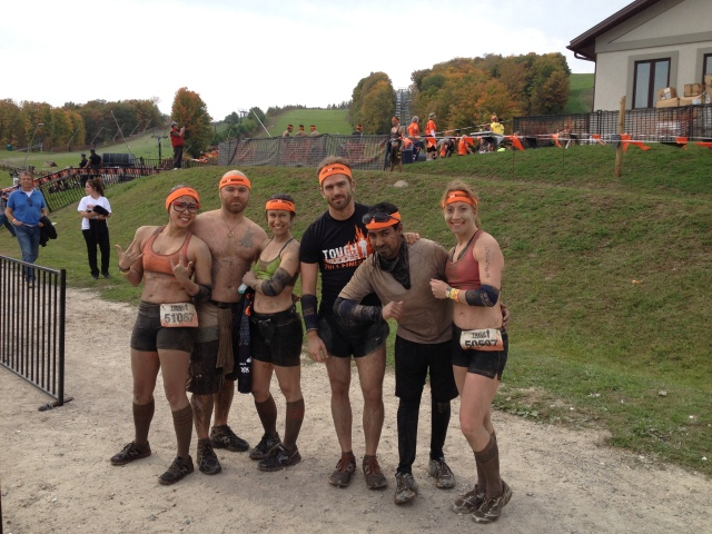 Toronto Tough Mudder 2013