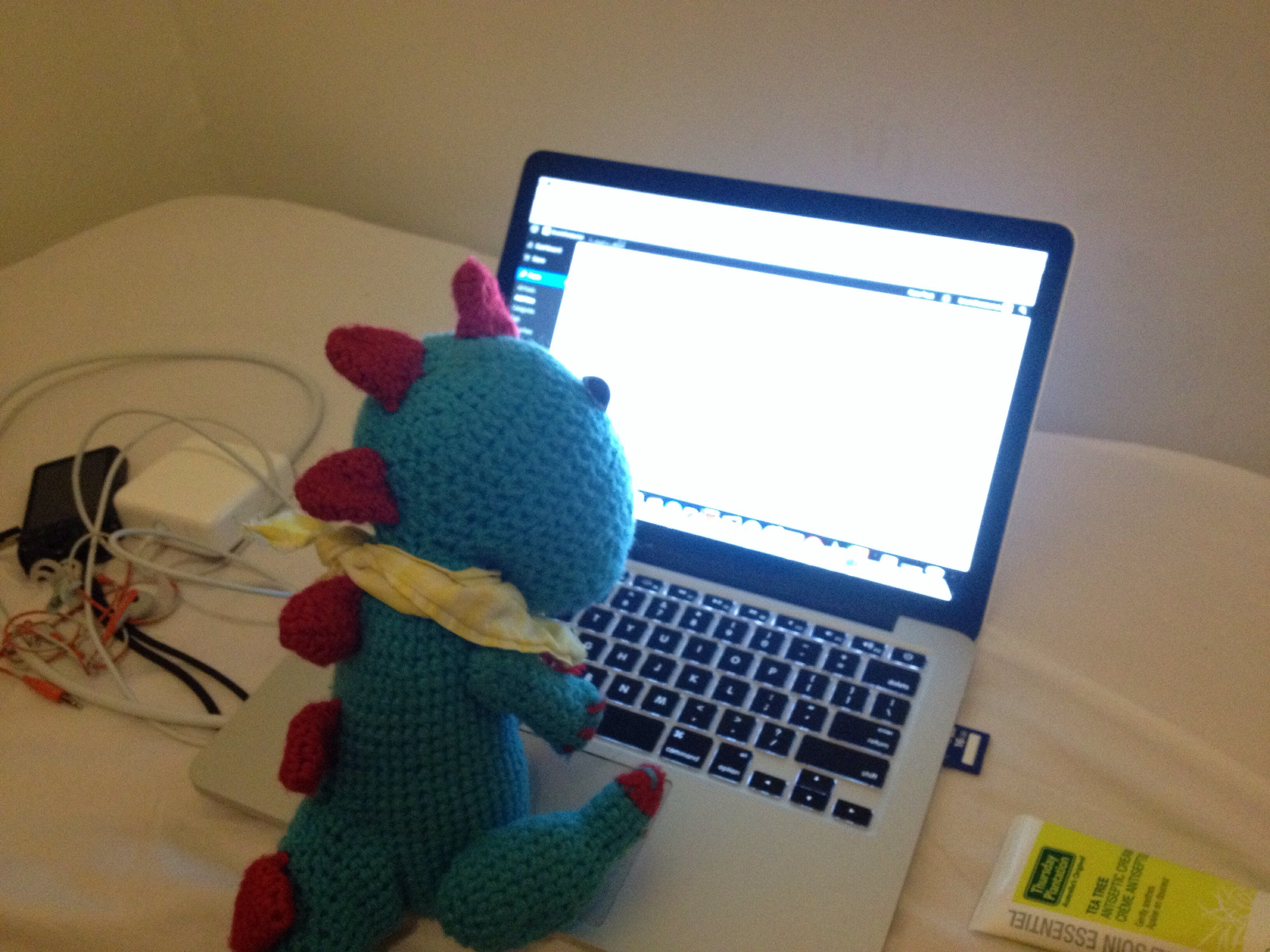 brunchosaurus benny blogging