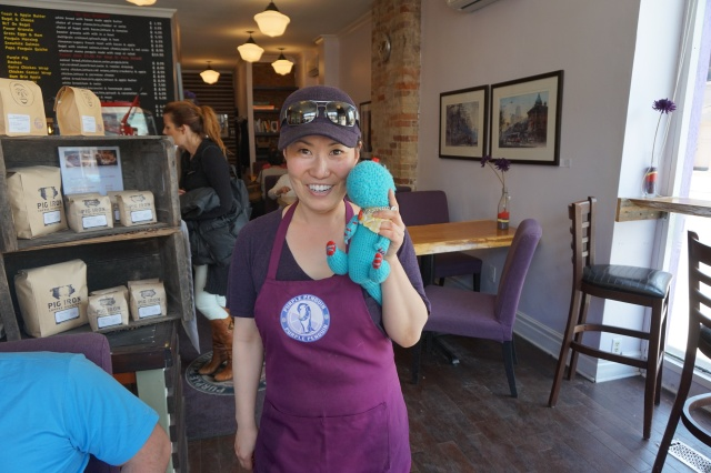 Purple Penguin Toronto Donut Crawl